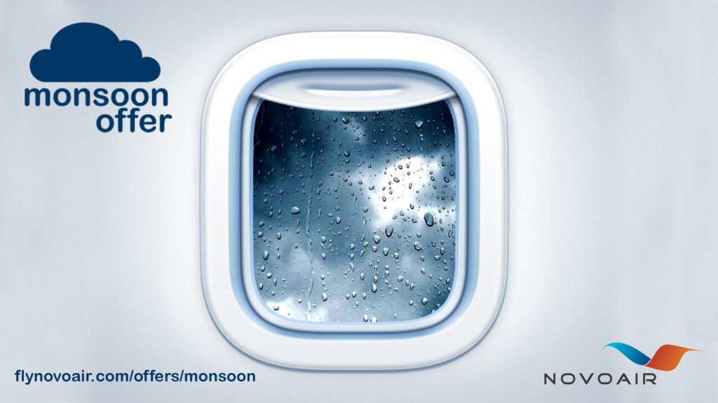 Novoair Monsoon Offer